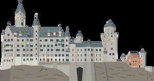 Neuschwanstein Castle by Herbertrocha