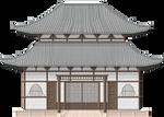 Japanese Shrine by Herbertrocha