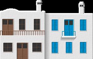 Greek House 2 by Herbertrocha