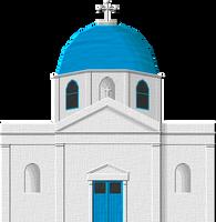 Mykonos Church by Herbertrocha