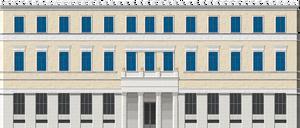 Athens City Hall by Herbertrocha