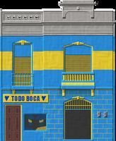La Boca Building by Herbertrocha