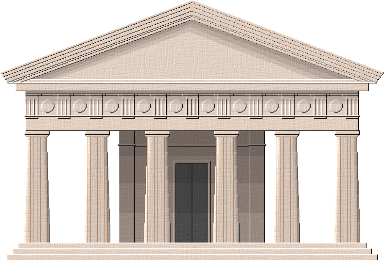 Greek Temple by Herbertrocha on DeviantArt