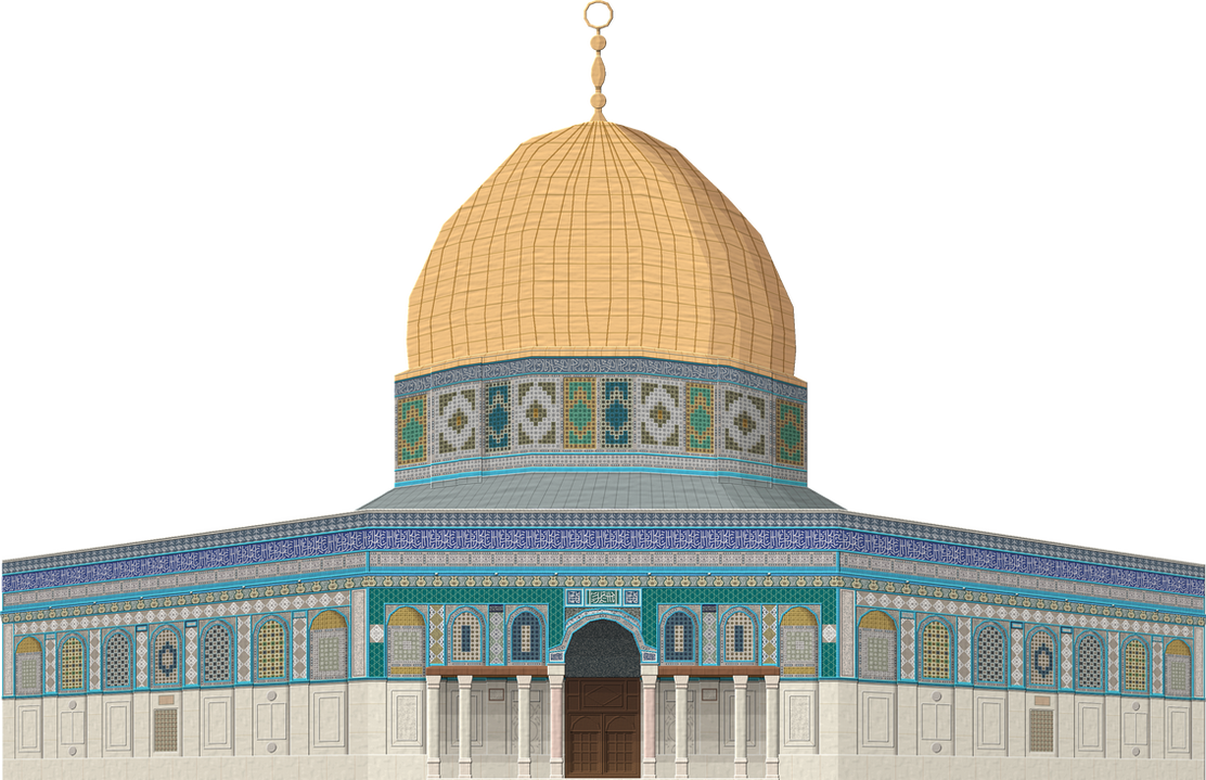 Dome of the Rock by Herbertrocha