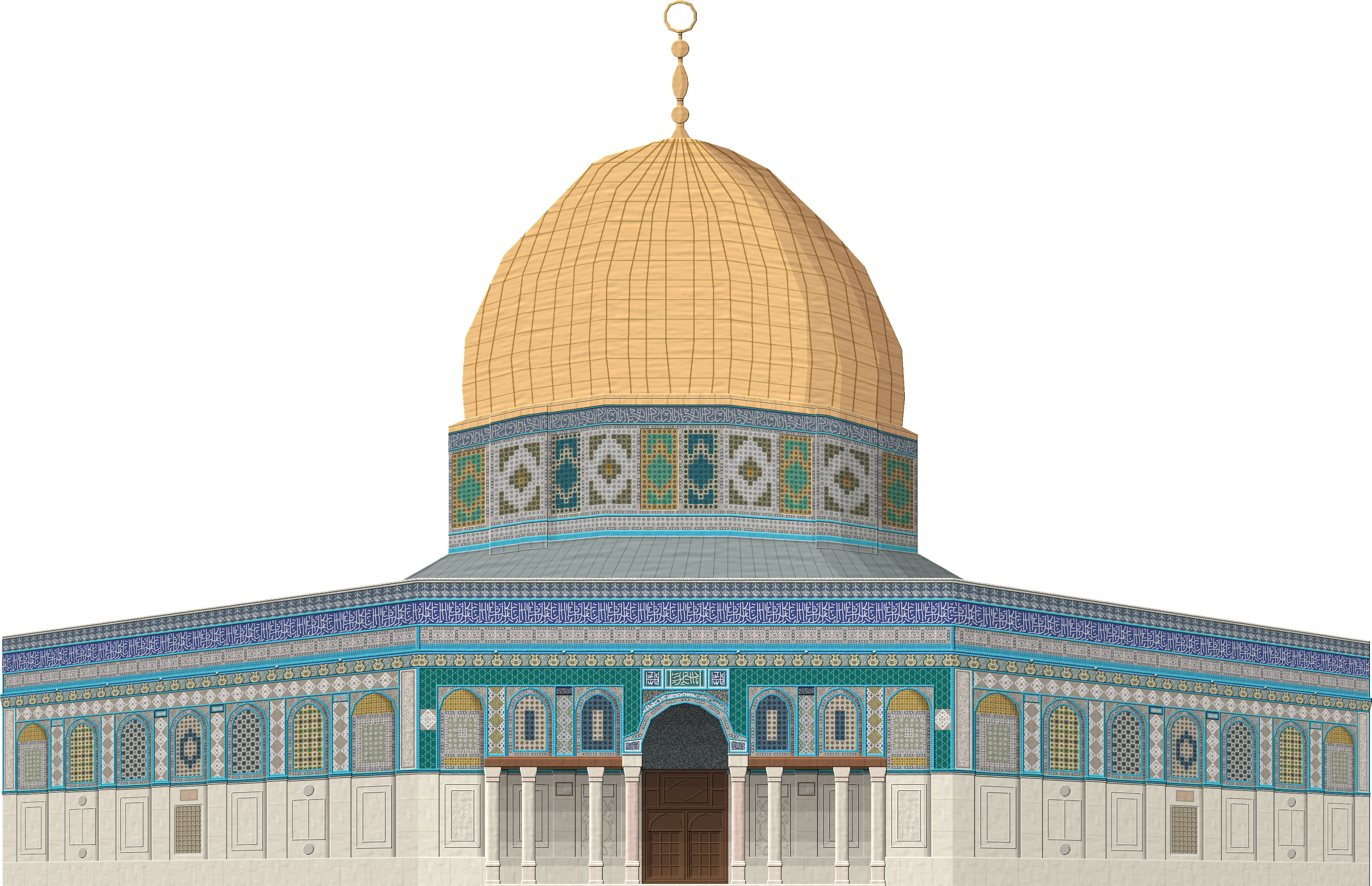 dome of the rock by herbertrocha on deviantart mosque clip art black and white free clipart mosquée