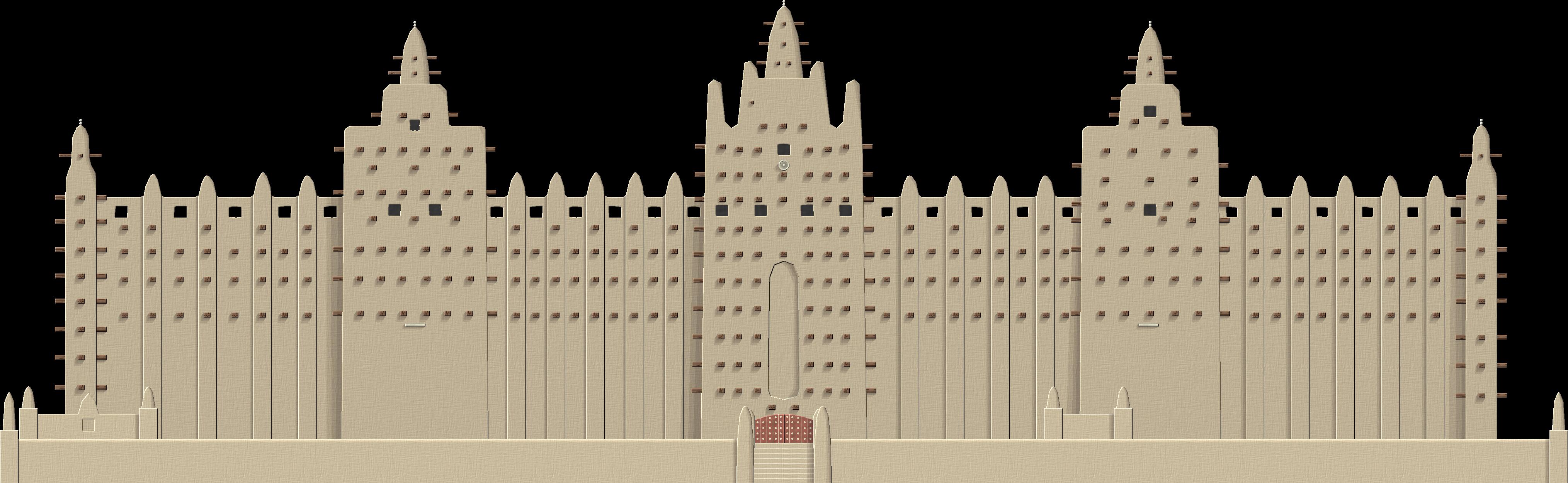 Great Mosque of Djenne by Herbertrocha