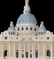 Saint Peter's Basilica by Herbertrocha
