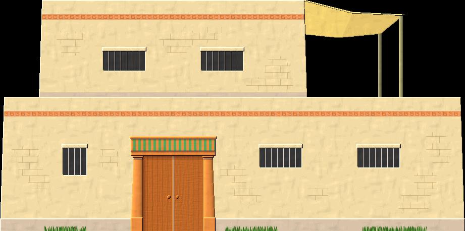 Egyptian House by Herbertrocha on DeviantArt
