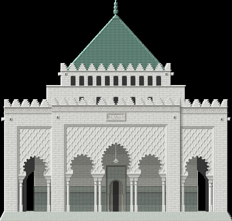 Mausoleum of Mohammed V by Herbertrocha