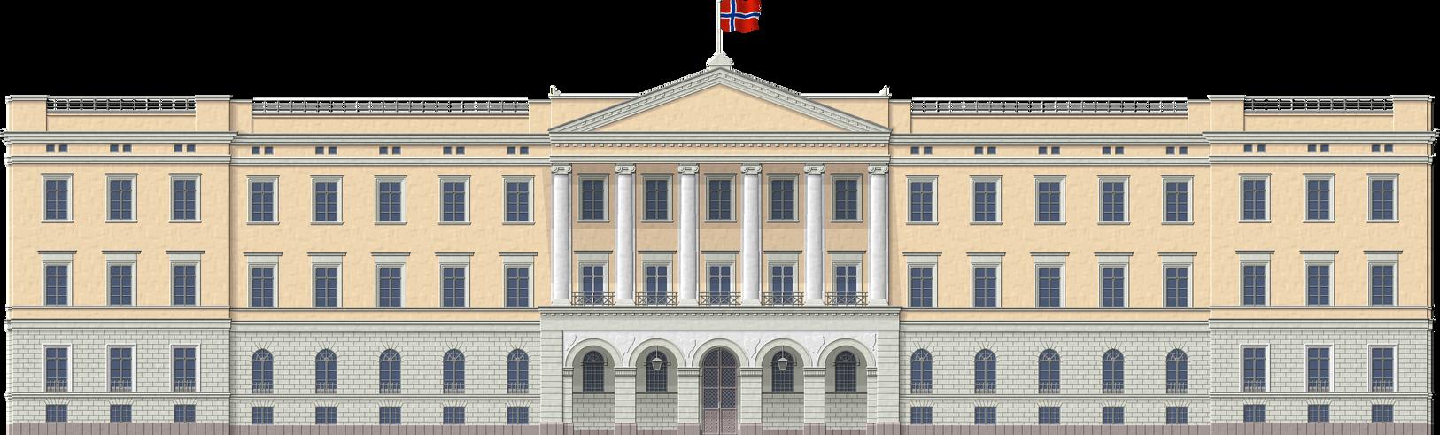 Oslo Royal Palace by Herbertrocha