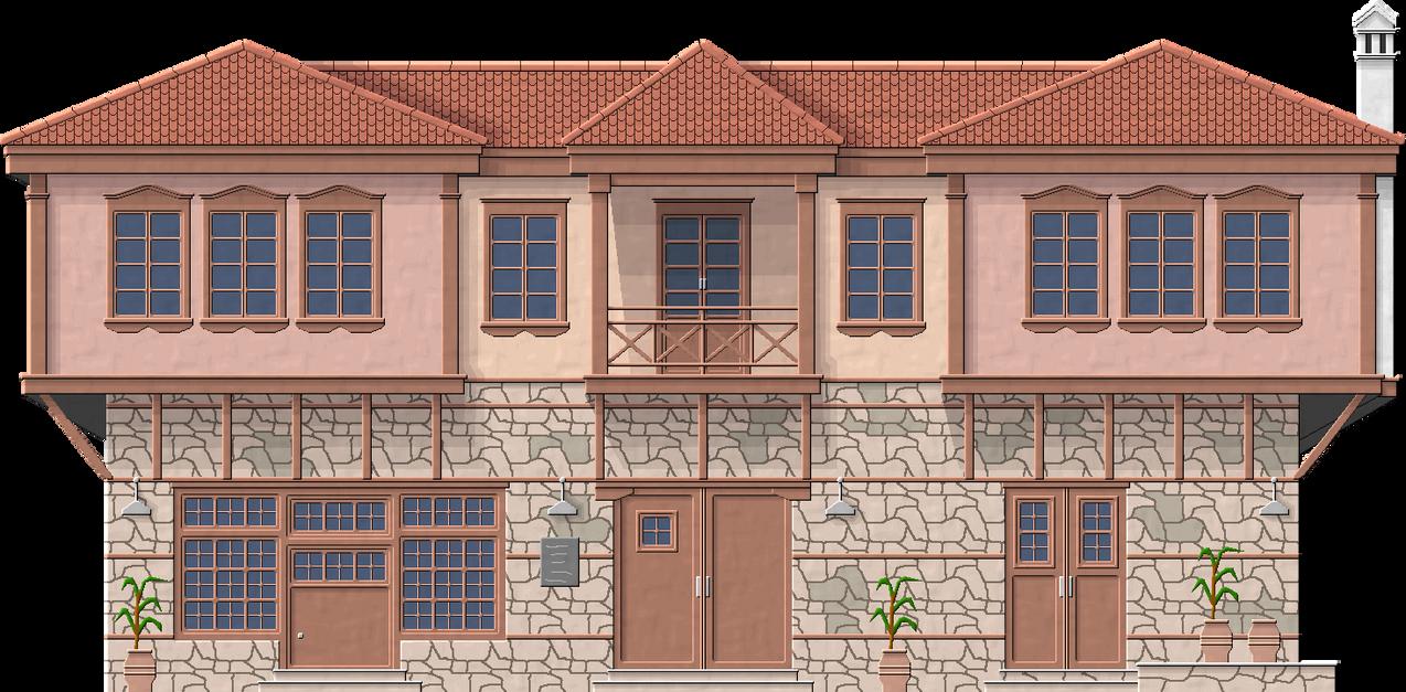 Macedonian Manor by Herbertrocha