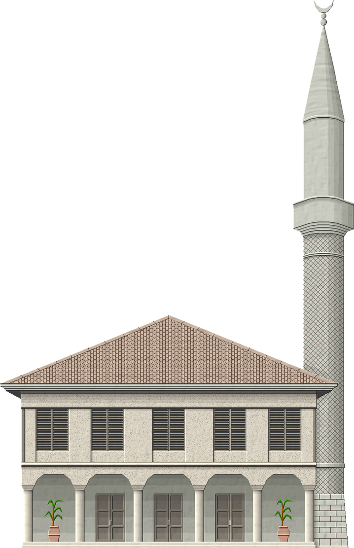 Macedonian Mosque by Herbertrocha