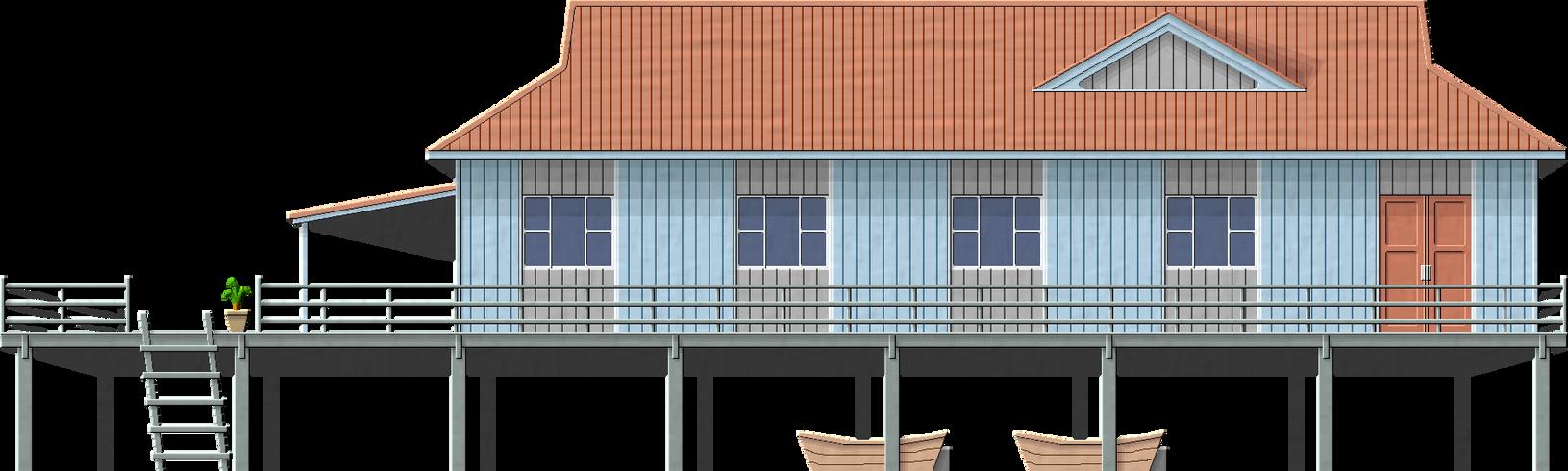 Kampong Ayer Building by Herbertrocha