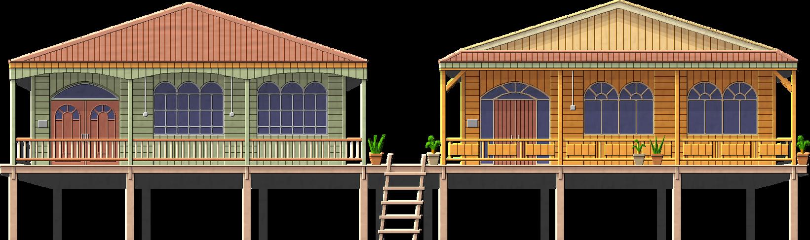 Kampong Ayer House by Herbertrocha