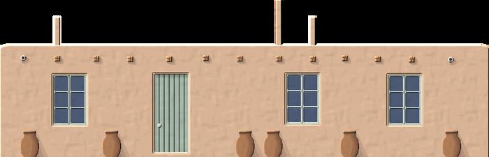 Turkmen Adobe Cottage