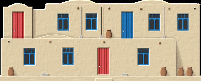 Turkmen Adobe House