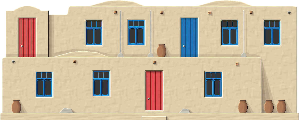 Turkmen Adobe House by Herbertrocha