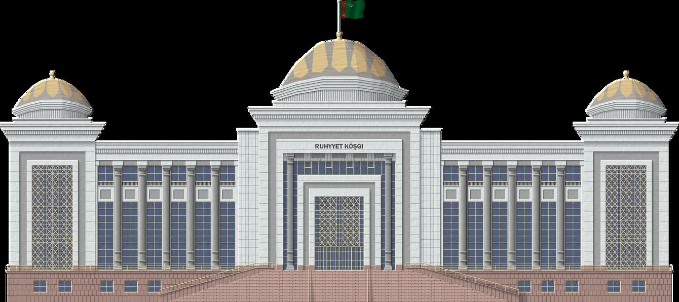 Turkmen Palace by Herbertrocha