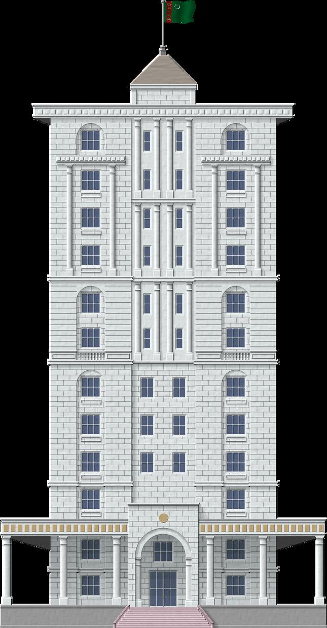 Ashgabat Apartments by Herbertrocha