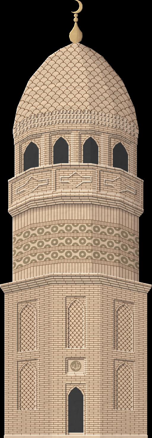 Turkmen Minaret by Herbertrocha