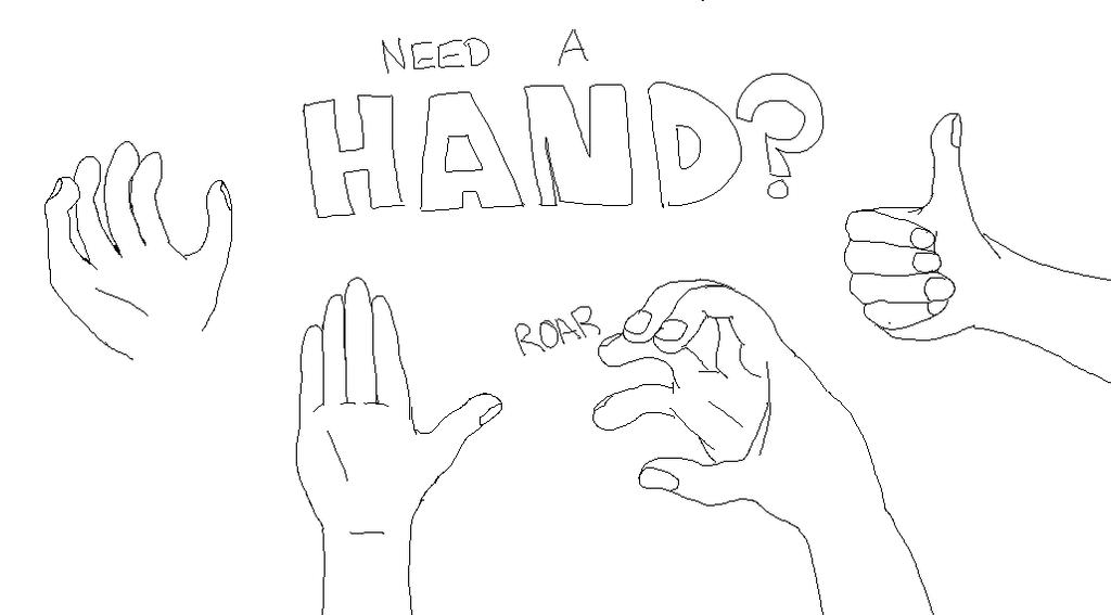 Hands by FudgeConspiracy