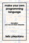 Make Your Own Programming Language cover