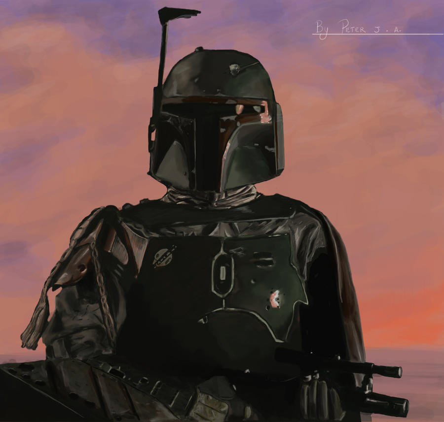 Boba fett by PeterAJ