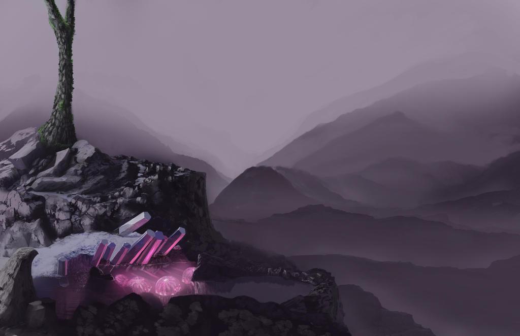 Mystic mountain by PeterAJ