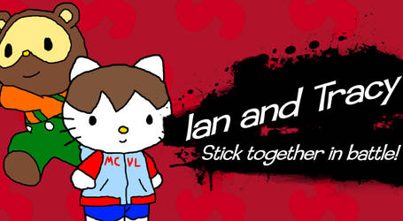 Ian and Tracy stick together by IanandArt-Back-Up