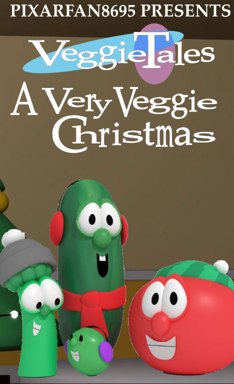 A Very Veggie Christmas.A Very Veggie Christmas Cover Art Comparison By Ianandart