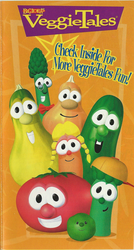 Check Inside For More VeggieTales Fun by IanandArt-Back-Up