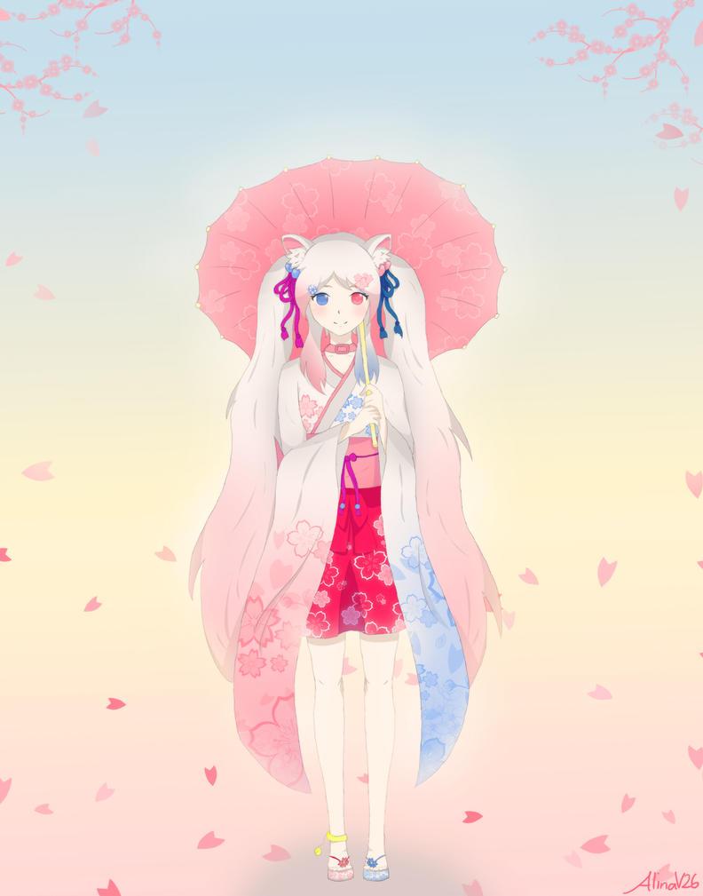 Art Trade - Chieri Yuki by AlinaV26