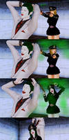 Joker vs Lady BlackHawk