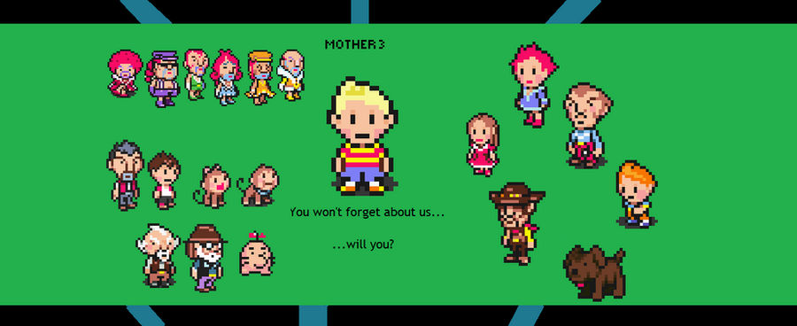 Characters of Mother 3 - My New Desktop by Totaldramaman on DeviantArt