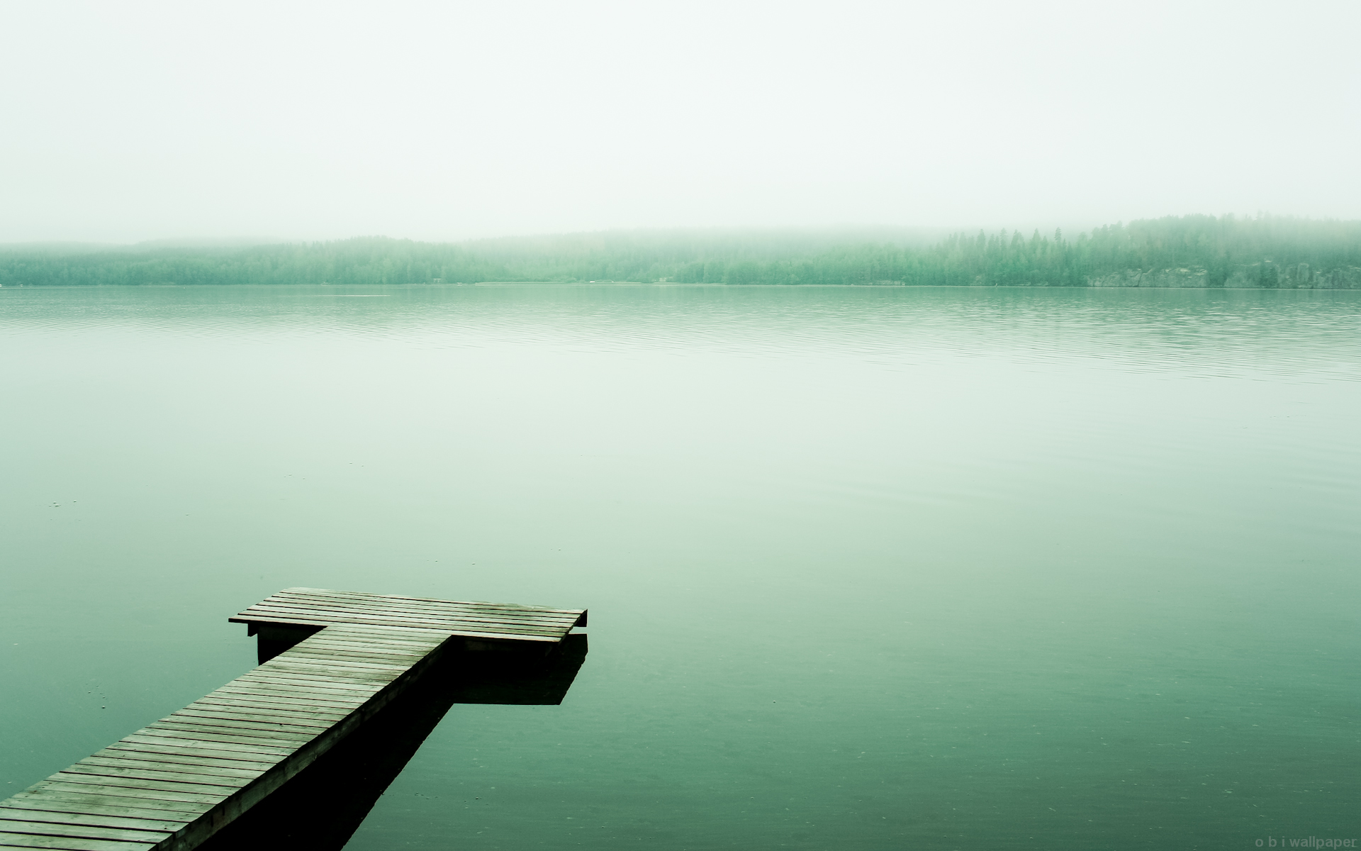 mint lake wallpaper by obwilson