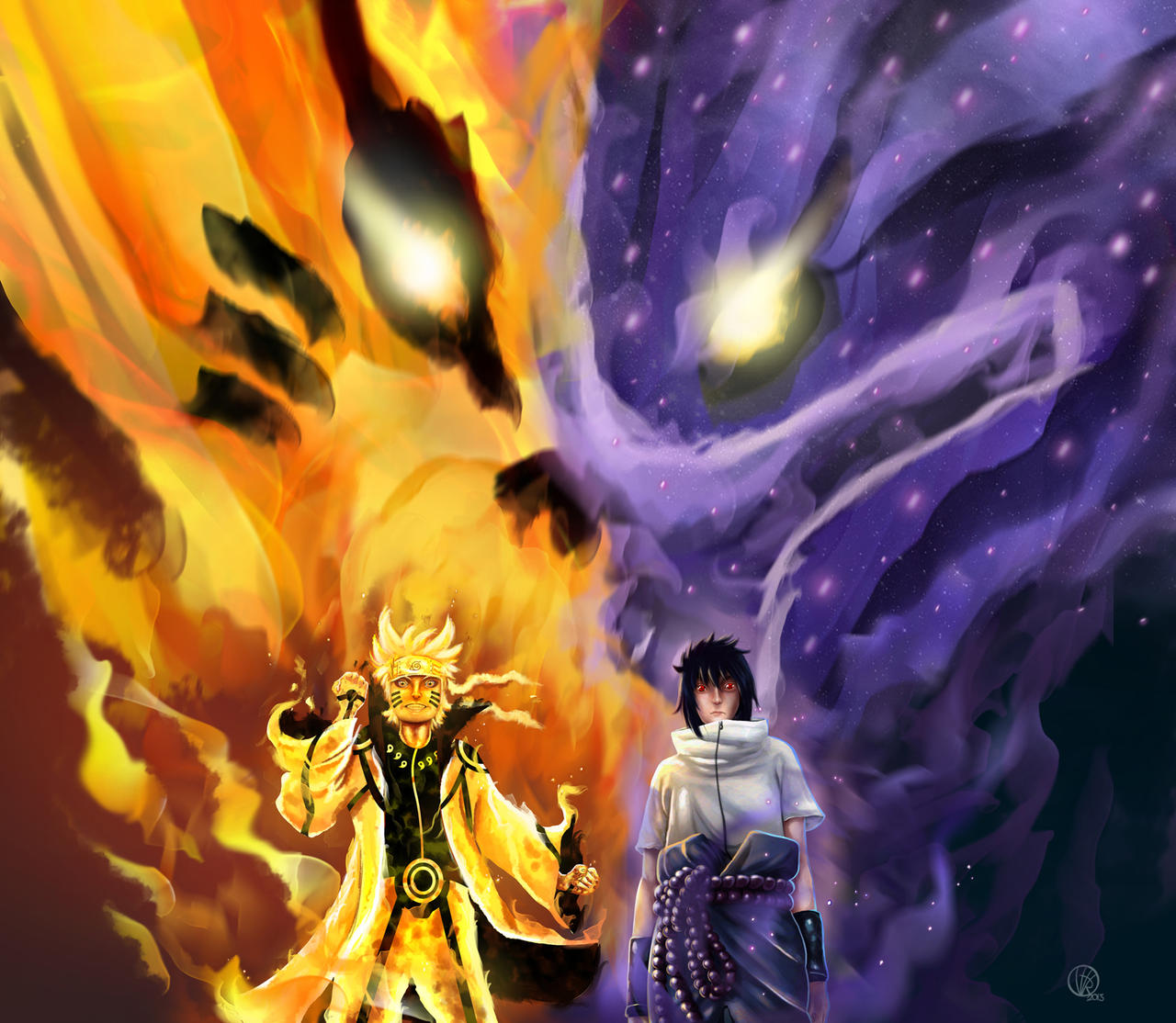 Naruto Fan Art By Victorfl On DeviantArt