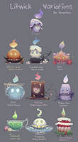 Litwick Variations by Neonitee