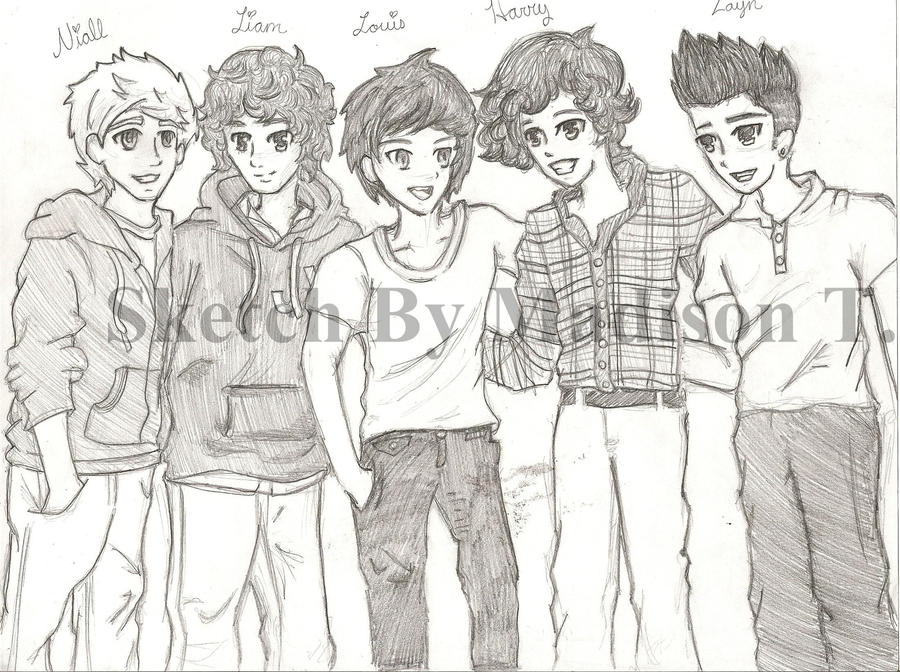 How To Draw   One Direction Kleurplaten  Page 2