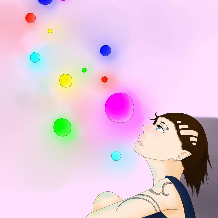 Neon Bubbles