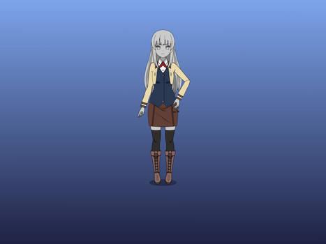 Kyouka Turned into Stone 2