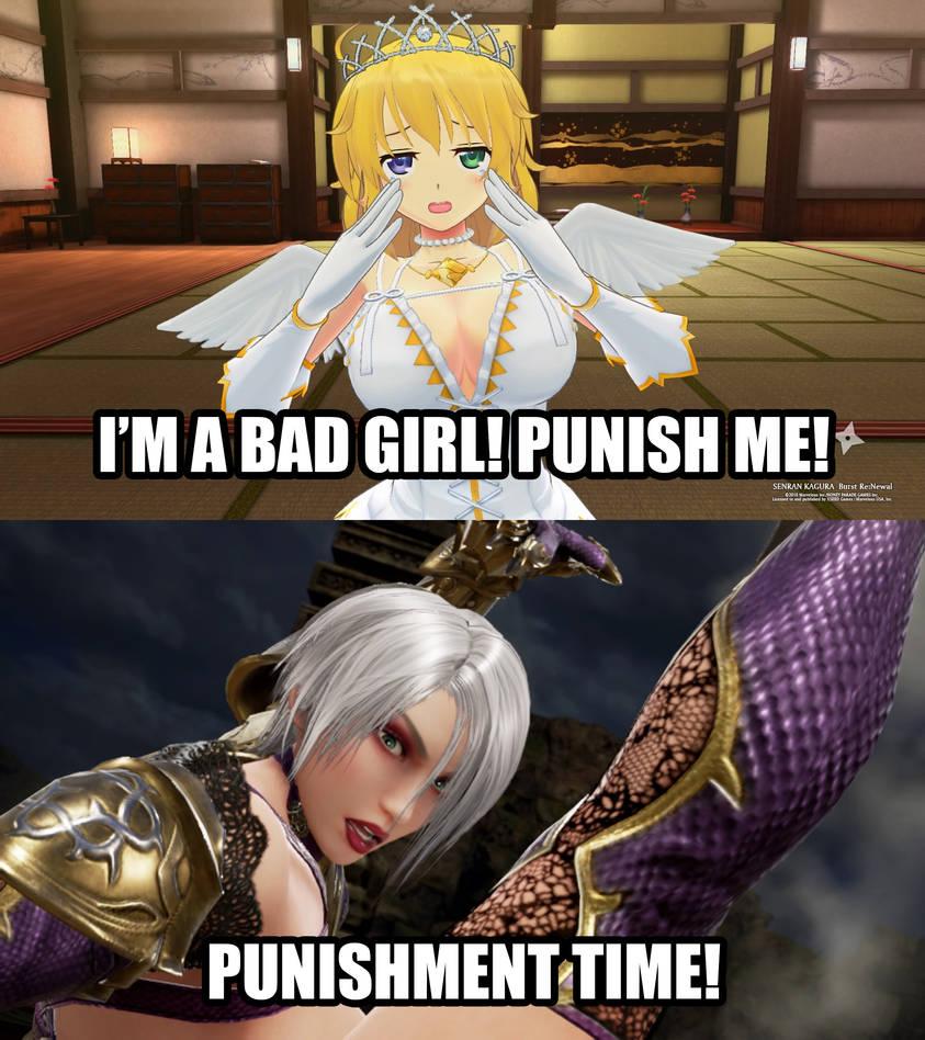 Ivy Punishes Ryona
