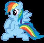 Rainbow Dash Standing [Vector]
