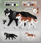 Jorg and Luna Reference Sheet