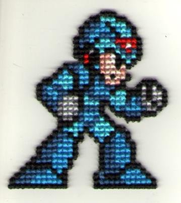 Mega Man X by StitchPlease