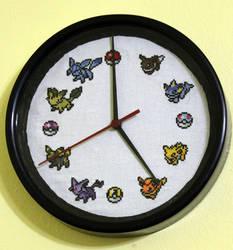 Eevee Clock