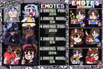 Commisions Emotes by MeroEC