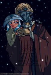 Plo Koon Finds Little Ahsoka by ElTheGeneral