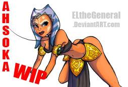 Shili Ahsoka Clone Wars WIP by ElTheGeneral
