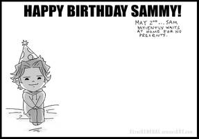 Sam's Birthday Doodle by ElTheGeneral