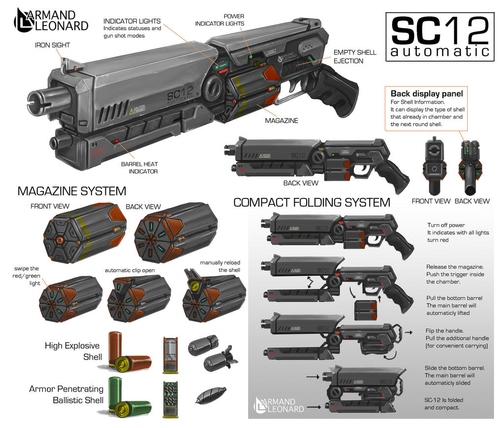 Commission Armand Leonard SC 12 Shotgun By Aiyeahhs On